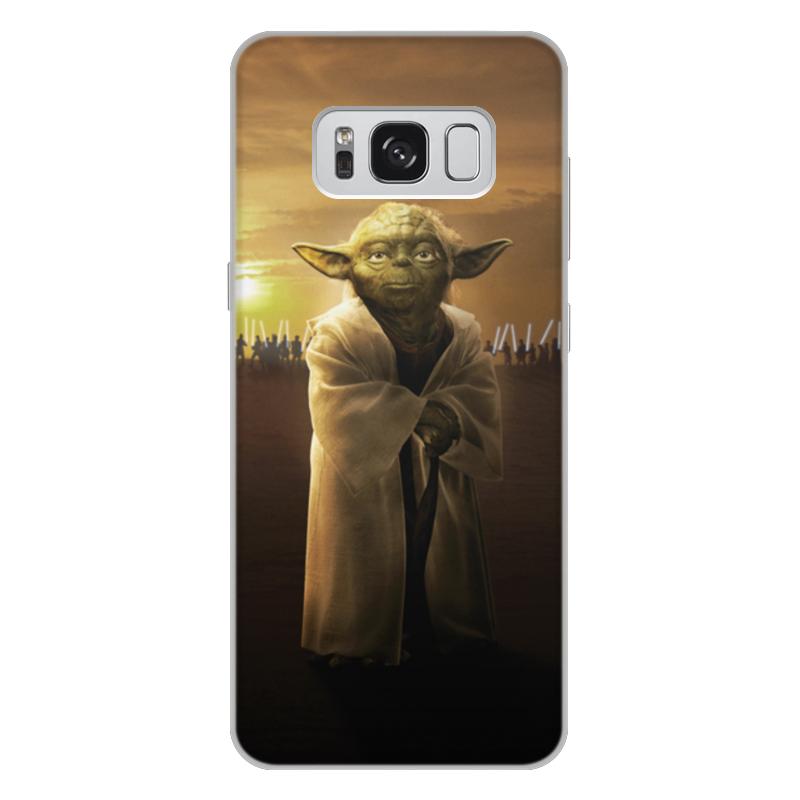 Чехол для Samsung Galaxy S8 Plus, объёмная печать Printio Звездные войны - йода чехол для samsung galaxy s7 объёмная печать printio звездные войны йода