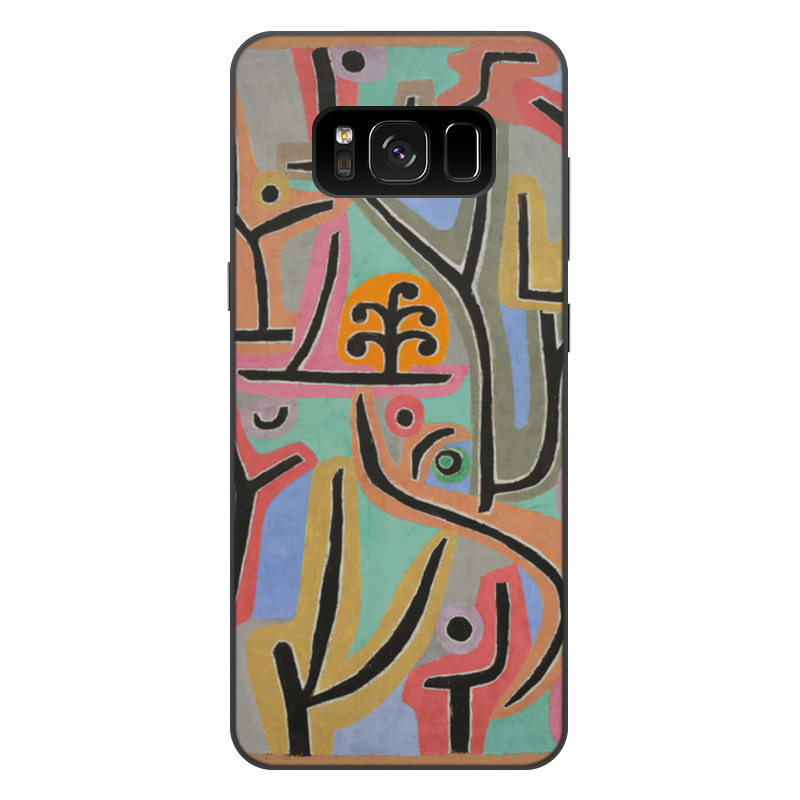 лучшая цена Чехол для Samsung Galaxy S8 Plus, объёмная печать Printio Парк возле лю (пауль клее)