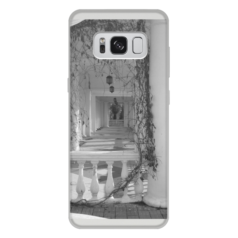 Чехол для Samsung Galaxy S8 Plus, объёмная печать Printio Осень oem samsung akg s8 headphones earbuds with mic for samsung galaxy s8 s8 plus
