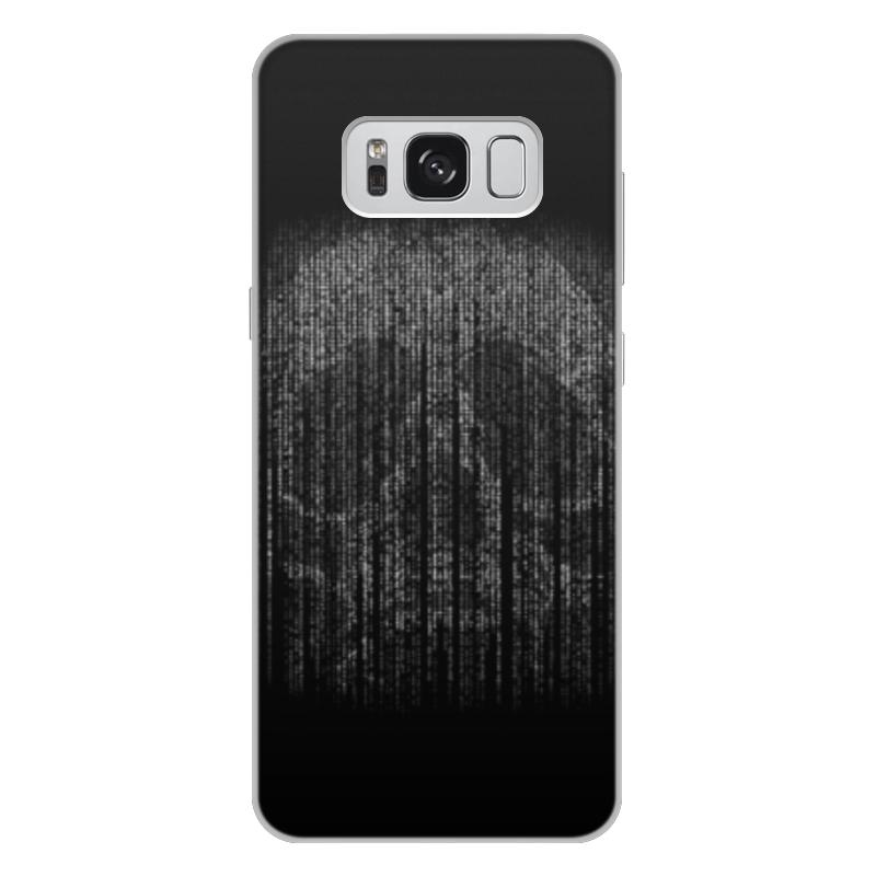 Чехол для Samsung Galaxy S8 Plus, объёмная печать Printio Голограмма череп чехол для samsung galaxy s5 printio череп художник