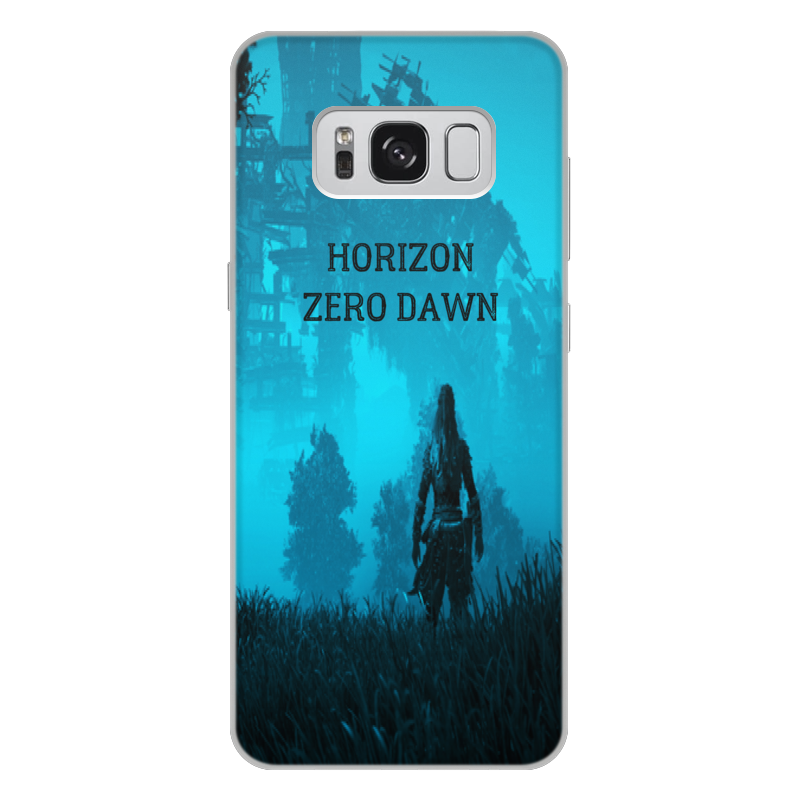 Чехол для Samsung Galaxy S8 Plus, объёмная печать Printio Horizon zero dawn аксессуар чехол для samsung galaxy s8 plus pero soft touch black prstc s8pb