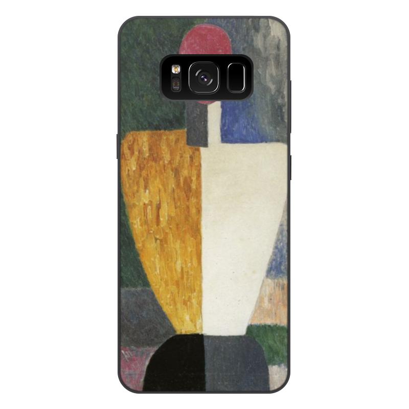 Чехол для Samsung Galaxy S8 Plus, объёмная печать Printio Торс (фигура с розовым лицом) (малевич) чехол для samsung galaxy s5 printio торс фигура с розовым лицом малевич