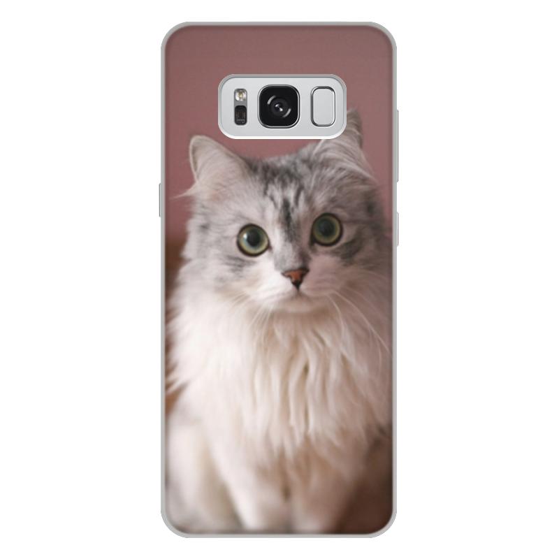 Чехол для Samsung Galaxy S8 Plus объёмная печать Printio Кошка