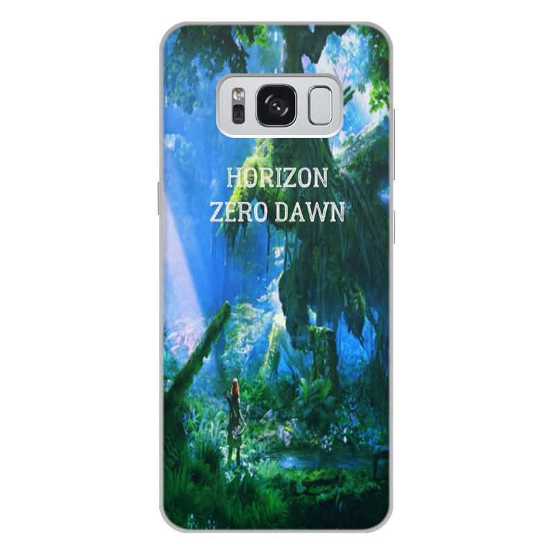 Чехол для Samsung Galaxy S8 Plus, объёмная печать Printio Horizon zero dawn чехол для samsung galaxy s8 объёмная печать printio футбол