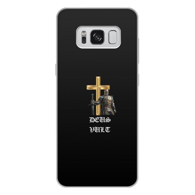 Чехол для Samsung Galaxy S8 Plus, объёмная печать Printio Deus vult. крестоносцы
