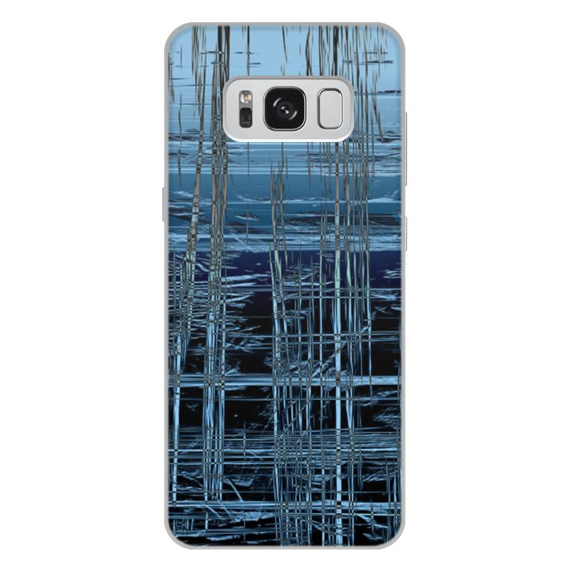 Чехол для Samsung Galaxy S8 Plus, объёмная печать Printio Ледяной срез s8p и и лажечников ледяной дом
