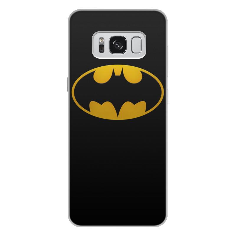 Чехол для Samsung Galaxy S8 Plus, объёмная печать Printio Бэтмен чехол для ноутбука 14 printio бэтмен