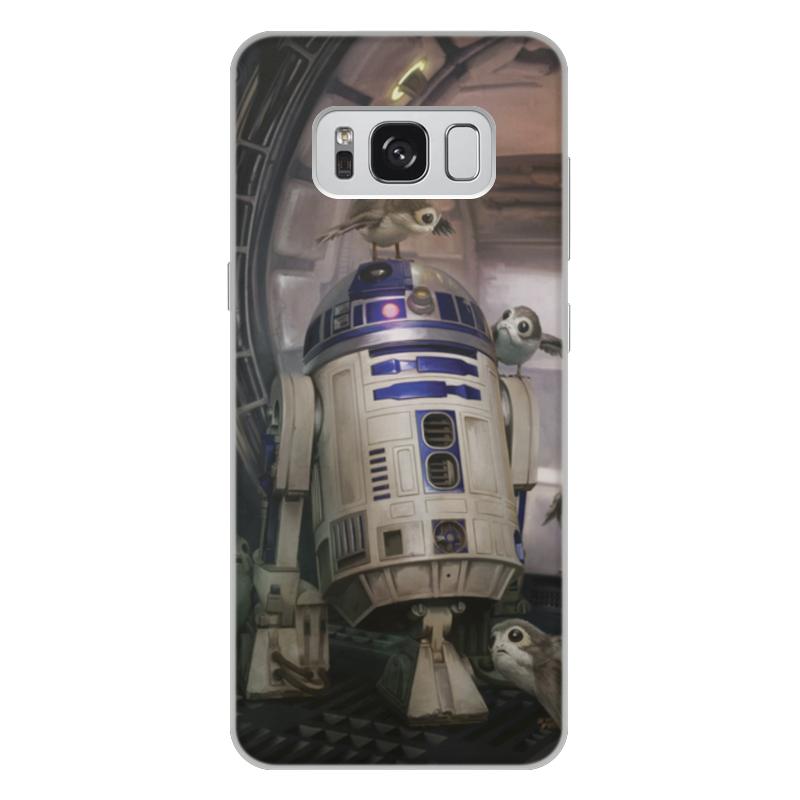 Чехол для Samsung Galaxy S8 Plus объёмная печать Printio Звездные войны - r2-d2