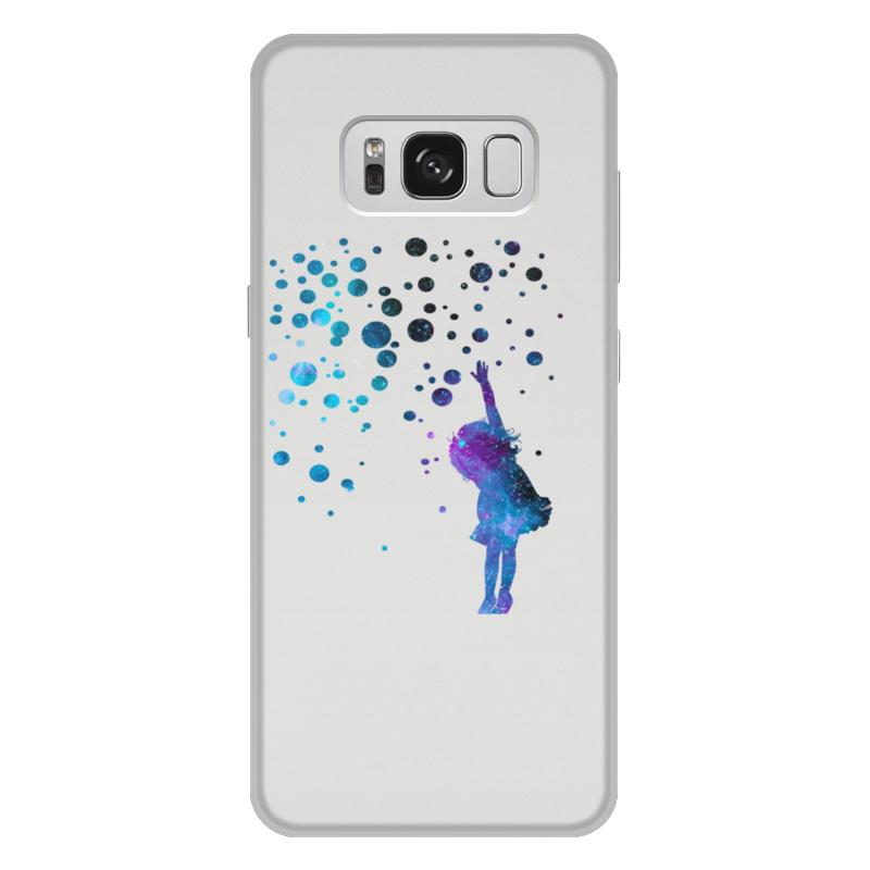 Чехол для Samsung Galaxy S8 Plus, объёмная печать Printio Дотянуться до звезд чехол для samsung galaxy note 2 printio дотянуться до звезд