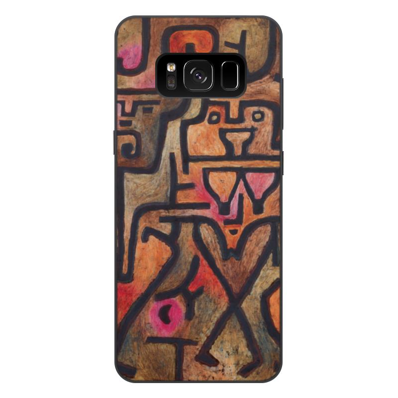 Чехол для Samsung Galaxy S8 Plus, объёмная печать Printio Лесные ведьмы (пауль клее) чехол для samsung galaxy s5 printio лесные ведьмы пауль клее