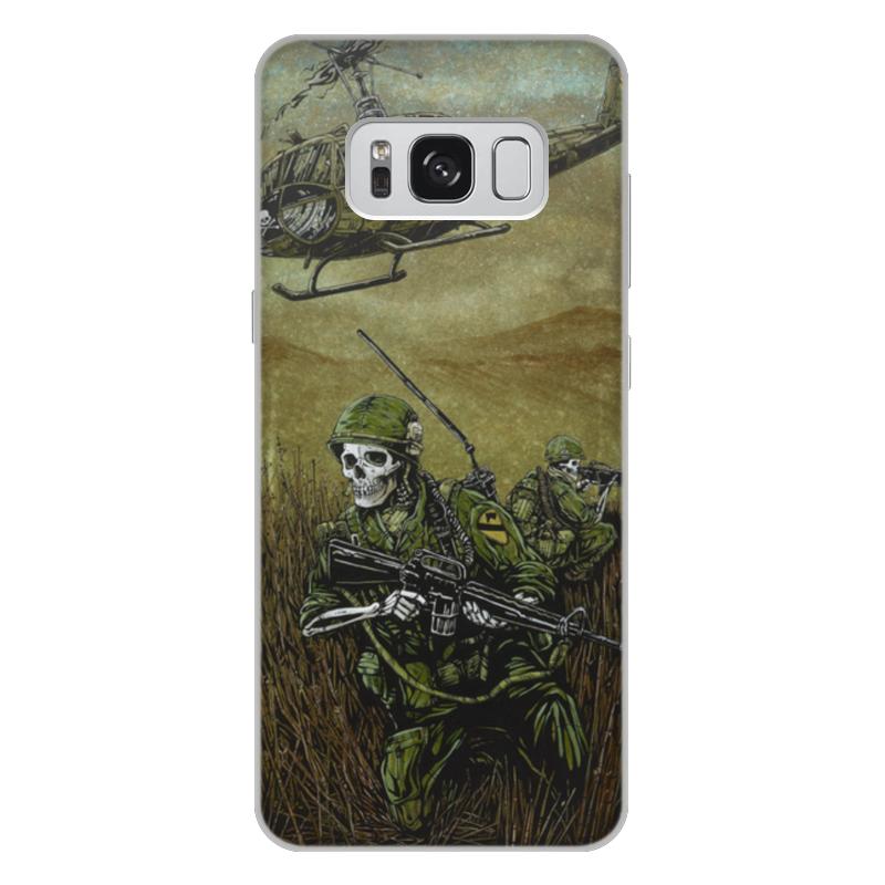 Чехол для Samsung Galaxy S8 Plus объёмная печать Printio Война