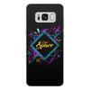 """Чехол для Samsung Galaxy S8 Plus, объёмная печать """"Love Space"""" - звезды, космос, вселенная"""