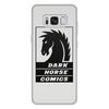 """Чехол для Samsung Galaxy S8 Plus, объёмная печать """"Dark Horse Comics"""" - комиксы, dark horse comics, тёмная лошадка"""
