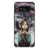 "Чехол для Samsung Galaxy S8 Plus, объёмная печать ""Children of silentown"" - девушка, фантастика, children of silentown"