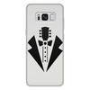 """Чехол для Samsung Galaxy S8 Plus, объёмная печать """"гитара-галстук"""" - бабочка, гитара, смокинг, пиджак, гаслтук"""