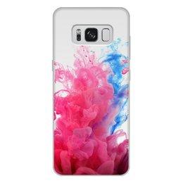 """Чехол для Samsung Galaxy S8 Plus, объёмная печать """"Дым Дым"""" - дым"""