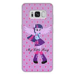 """Чехол для Samsung Galaxy S8 Plus, объёмная печать """"Искорка (Девочки Эквестрии)"""" - мультфильм, мой маленький пони, искорка, equestria girls, девочки эквестрии"""