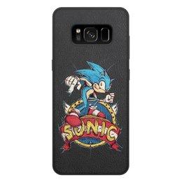 """Чехол для Samsung Galaxy S8 Plus, объёмная печать """"Sonic the Hedgehog"""" - игра, соник"""