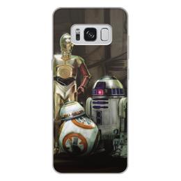 """Чехол для Samsung Galaxy S8 Plus, объёмная печать """"Star Wars"""" - кино, фантастика, star wars, звездные войны, дарт вейдер"""