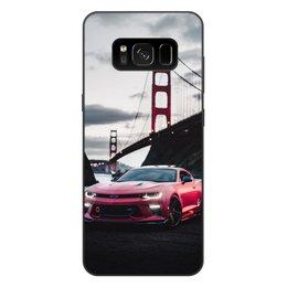 """Чехол для Samsung Galaxy S8 Plus, объёмная печать """"Машина"""" - машина"""