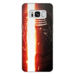 """Чехол для Samsung Galaxy S8 Plus, объёмная печать """"Звездные войны - Кайло Рен"""" - кино, фантастика, star wars, звездные войны, дарт вейдер"""