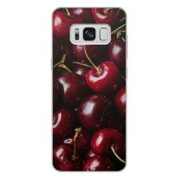 """Чехол для Samsung Galaxy S8 Plus, объёмная печать """"Лето!"""" - лето, фрукты, ягоды, вишня, черещня"""
