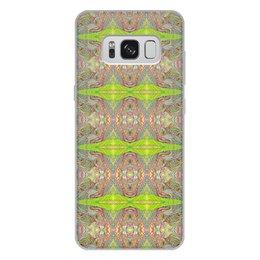 "Чехол для Samsung Galaxy S8 Plus, объёмная печать ""ом дракон узоры 01 сам с 8"" - trotinka, trotinkaspace, trottart, омдракон, омдраконузоры"
