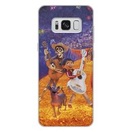 """Чехол для Samsung Galaxy S8 Plus, объёмная печать """"Тайна Коко"""" - музыка, мультфильм, дисней, приключения, тайна коко"""