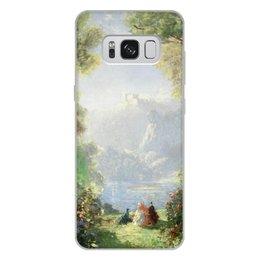 "Чехол для Samsung Galaxy S8 Plus, объёмная печать ""Дворец грёз (Томас Эдвин Мостин)"" - картина, живопись, мостин, романтизм"