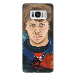 """Чехол для Samsung Galaxy S8 Plus, объёмная печать """"Артемий Панарин"""" - хоккей, нхл, сборная россия по хоккею, артемий панарин"""
