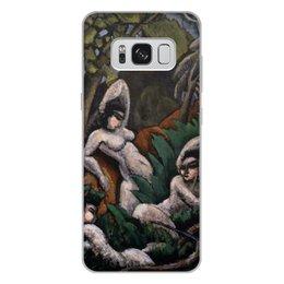 """Чехол для Samsung Galaxy S8 Plus, объёмная печать """"Лето (картина Макса Вебера)"""" - картина, живопись, кубизм, модерн, вебер"""