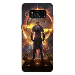 """Чехол для Samsung Galaxy S8 Plus, объёмная печать """"Starpoint Gemini Warlords"""" - starpoint gemini warlords, планета, космос, взрыв, компьютерная игра"""
