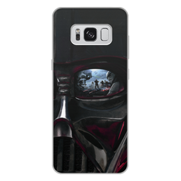 "Чехол для Samsung Galaxy S8 Plus, объёмная печать ""Звездные войны"" - звездные войны, кино, дарт вейдер, фантастика, star wars"
