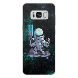 """Чехол для Samsung Galaxy S8 Plus, объёмная печать """"Штурмовик TR-8R"""" - star wars, штурмовик, стар варс, звёздные воины, старварс"""