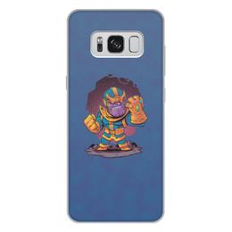 """Чехол для Samsung Galaxy S8 Plus, объёмная печать """"Танос"""" - marvel, мстители, марвел, танос, война бесконечности"""