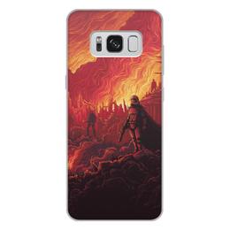 """Чехол для Samsung Galaxy S8 Plus, объёмная печать """"Звездные войны"""" - звездные войны, фантастика, кино, дарт вейдер, star wars"""