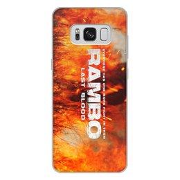 "Чехол для Samsung Galaxy S8 Plus, объёмная печать ""Rambo"" - рембо, боевик, rambo, sylvester stallone, сильвестер сталлоне"
