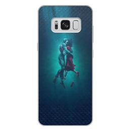 """Чехол для Samsung Galaxy S8 Plus, объёмная печать """"Форма воды"""" - любовь, кино, фэнтези, оскар, форма воды"""