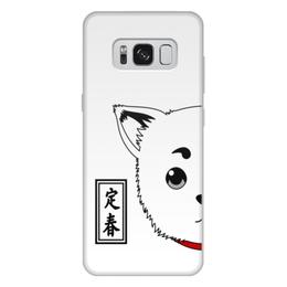 """Чехол для Samsung Galaxy S8 Plus, объёмная печать """"Гинтама. Садахару"""" - аниме, манга, gintama, гинтама, садахару"""