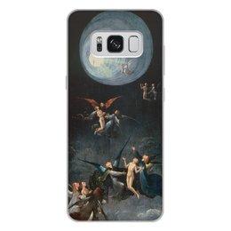 """Чехол для Samsung Galaxy S8 Plus, объёмная печать """"Блаженные и проклятые (Восхождение в эмпирей)"""" - картина, живопись, босх"""