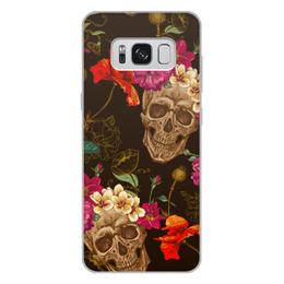 """Чехол для Samsung Galaxy S8 Plus, объёмная печать """"Череп"""" - череп"""