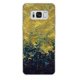 """Чехол для Samsung Galaxy S8 Plus, объёмная печать """"Abstract"""" - картина, разводы, абстракция, живопись, флюид"""