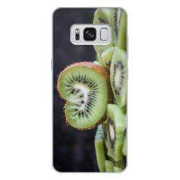 """Чехол для Samsung Galaxy S8 Plus, объёмная печать """"Лето!"""" - лето, пляж, киви, сочный киви, сладкий киви"""