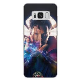 """Чехол для Samsung Galaxy S8 Plus, объёмная печать """"Доктор Стрэндж"""" - marvel, мстители, марвел, доктор стрэндж, doctor strange"""