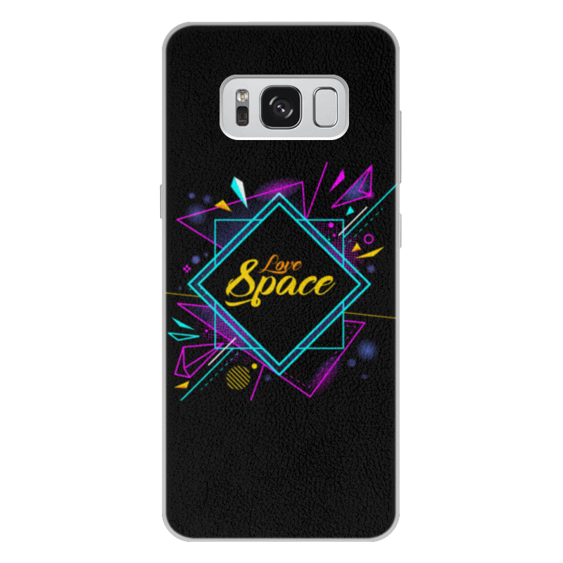 Чехол для Samsung Galaxy S8 Plus кожаный Printio Love space чехол для samsung galaxy s8 plus силиконовый printio love space
