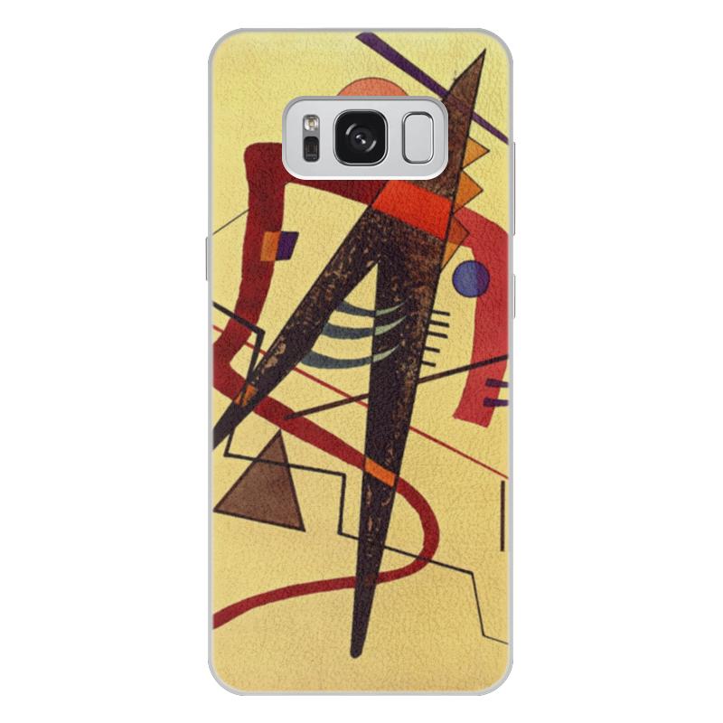 Чехол для Samsung Galaxy S8 Plus кожаный Printio Тепло (пауль клее) чехол для samsung galaxy s5 printio лесные ведьмы пауль клее