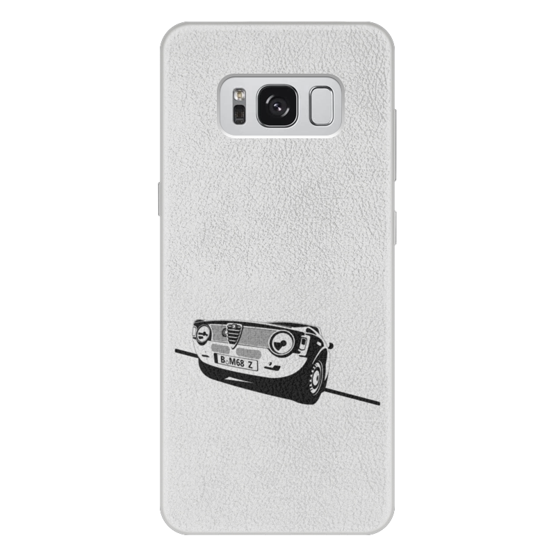 Чехол для Samsung Galaxy S8 Plus кожаный Printio Retro alfa romeo racing наклейки tony 2 74 alfa romeo mito 147 156 159 166 giulietta gt