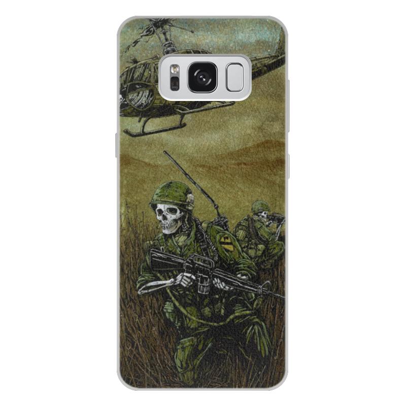 Чехол для Samsung Galaxy S8 Plus кожаный Printio Война чехол для samsung galaxy s8 plus силиконовый printio война