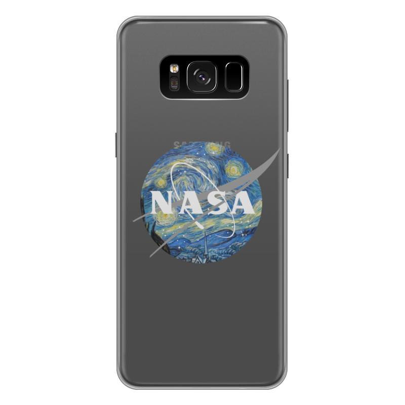 Чехол для Samsung Galaxy S8 Plus силиконовый Printio /nasa чехол для samsung galaxy s8 силиконовый printio сталкер