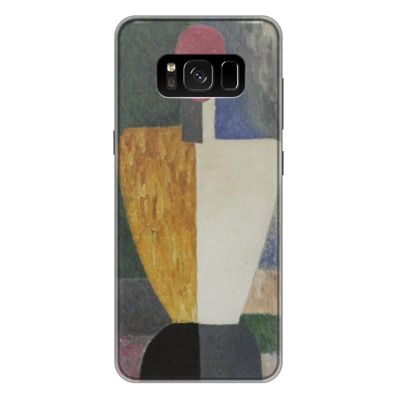 Чехол для Samsung Galaxy S8 Plus силиконовый Printio Торс (фигура с розовым лицом) (малевич) чехол для samsung galaxy s5 printio торс фигура с розовым лицом малевич